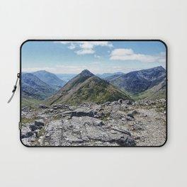 Aonach Eagach from Stob Coire Raineach Laptop Sleeve