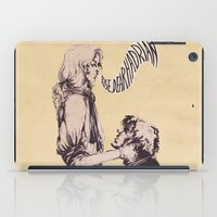 grantaire iPad Cases featuring Of reciprocity by MENELLAOS