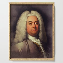 George Frederic Handel, Music Legend Serving Tray