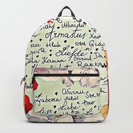 Love injected Backpack