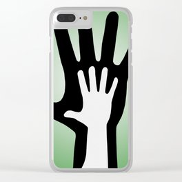 parent and child Clear iPhone Case