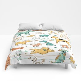 Dogs Dogs Dogs Comforters