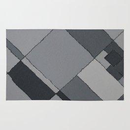 Grey Map 45 Rug