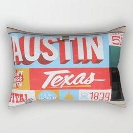 Austin, TX Rectangular Pillow