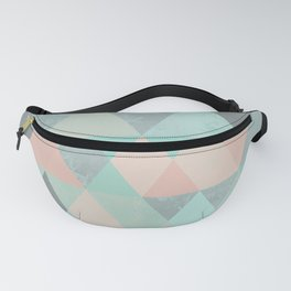 ABSTRACT GEOMETRIC COMPOSITION 6 Fanny Pack
