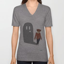 Ghosts Unisex V-Neck