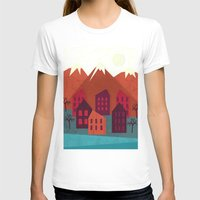 mountains T-shirts featuring Mountains by Kakel