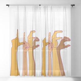 LIFE Sheer Curtain