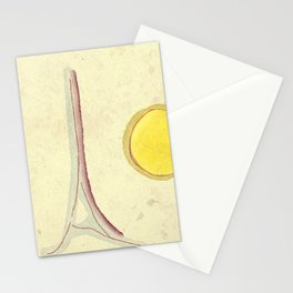 afternoon in paris Stationery Cards