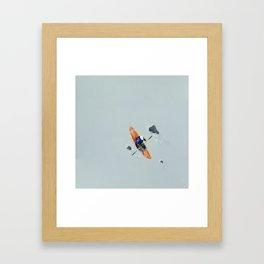 Solitude- Kayaker Framed Art Print