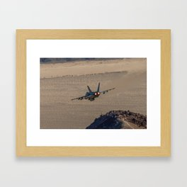 Hornet Low Level Framed Art Print