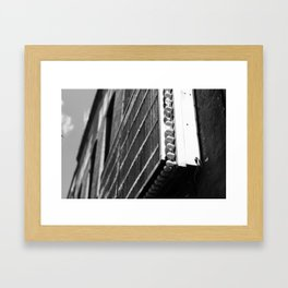 Marquee Framed Art Print