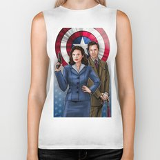 Peggy and Jarvis Biker Tank