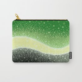 Aromantic Pride Flag Galaxy Carry-All Pouch