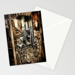 Vintage Horse Drawn Carriage Stationery Cards