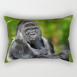 Silverback Rectangular Pillow