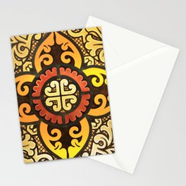 An antique cross Stationery Cards