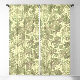 Runic good vibes Blackout Curtain