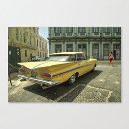 Classic Rear End  Canvas Print
