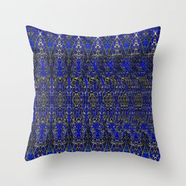 Spiral Ball Stereogram Throw Pillow