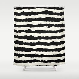 black and white striped shower curtain. Horizontal Ivory Stripes Shower Curtain Curtains  Society6