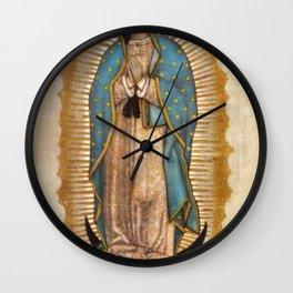 Virgin Guadalupe Wall Clock