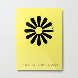 Looking for Alaska Metal Print