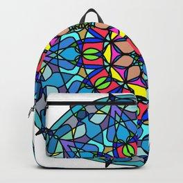Mandala Curve beautiful. Backpack