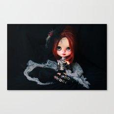Blythe Royal Soliloquy doll Canvas Print