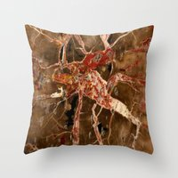 geology Throw Pillows featuring Funky Geology by UMe Images