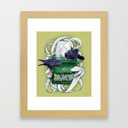 Poison Print Framed Art Print