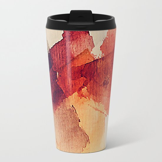 Slices of fruit Metal Travel Mug