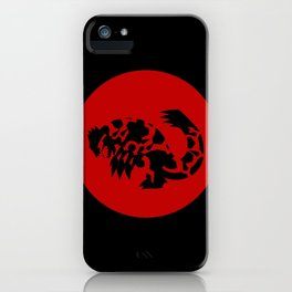 Omega Ruby - Primal Groudon iPhone Case