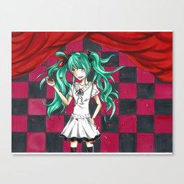 Hatsune Miku World is Mine Canvas Print