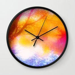 Wild, Mystic and Romance Landscape Wall Clock