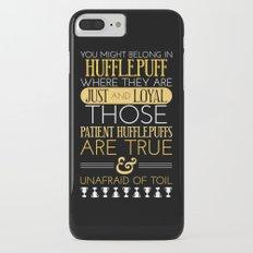 Hufflepuff Slim Case iPhone 7 Plus