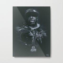 4 5 6 Metal Print