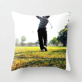 Fore! Throw Pillow