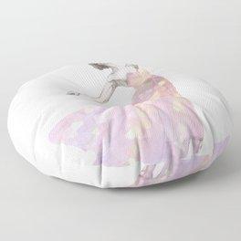 Crystal Ballerina Floor Pillow