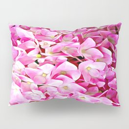 Pink Hydrangea Pillow Sham