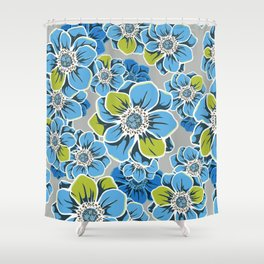 Mandala Flowers 6 Shower Curtain
