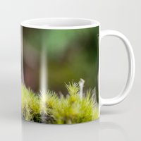 moss Mugs featuring Moss. by Michelle McConnell