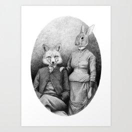 Couple II Art Print