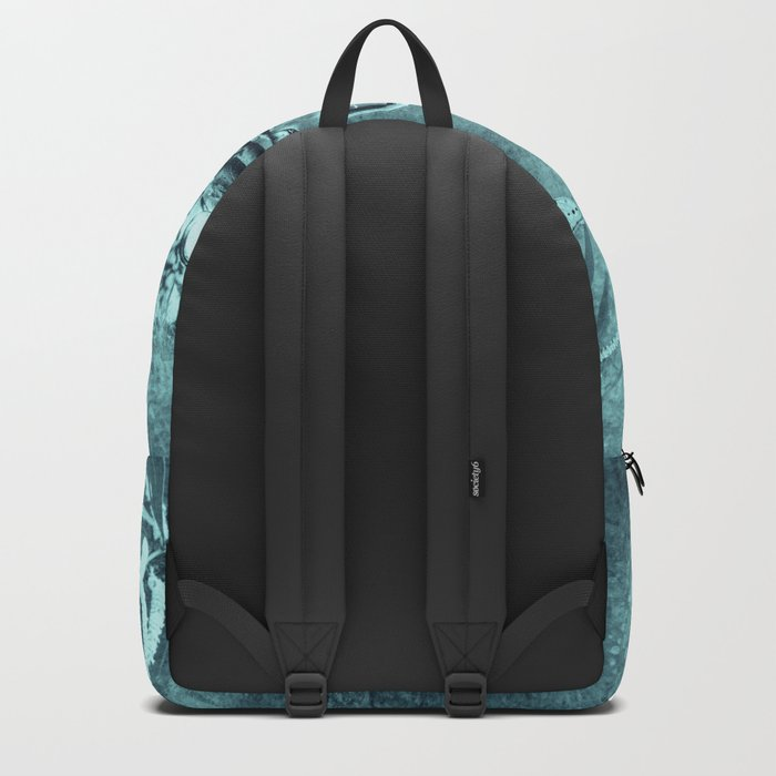 cars and butterflies in moonlight Backpack