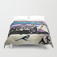 cage Duvet Covers featuring Cage by Cs025