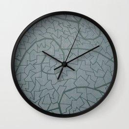 mosaic waves Wall Clock
