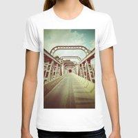 bridge T-shirts featuring Bridge by César Ovalle