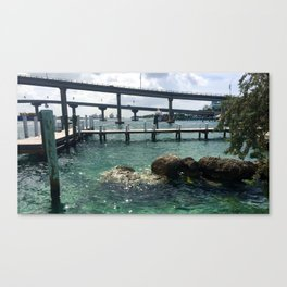 Dockin' at Sea Canvas Print