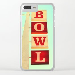 Bowl! Clear iPhone Case