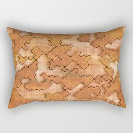 fantasy dungeon maps 2 Rectangular Pillow